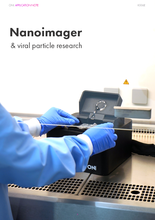 Nanoimager and Viral Particle Research